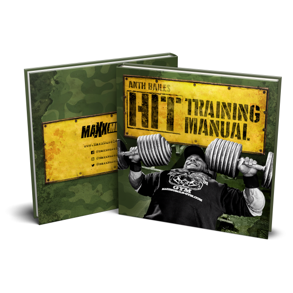 IFBB Pro Anth Bailes' HIT Training Manual