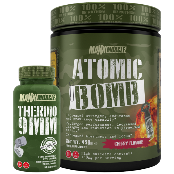Thermo 9mm plus Atomic Bomb