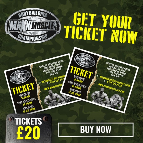 maxxmuscle open bodybuilding championship ticket