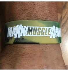 MaxxMuscle 100% Or Nothing Branded Wrist Band