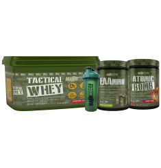 Tactical Whey + EAAmmo + Atomic Bomb + Free Shaker
