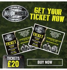 maxxmuscle open bodybuilding championship ticket