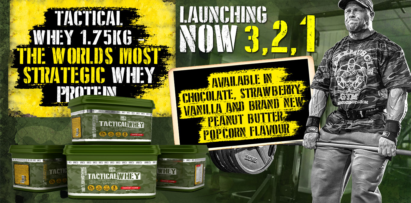 [NEW] Slider 4 - Tactical Whey