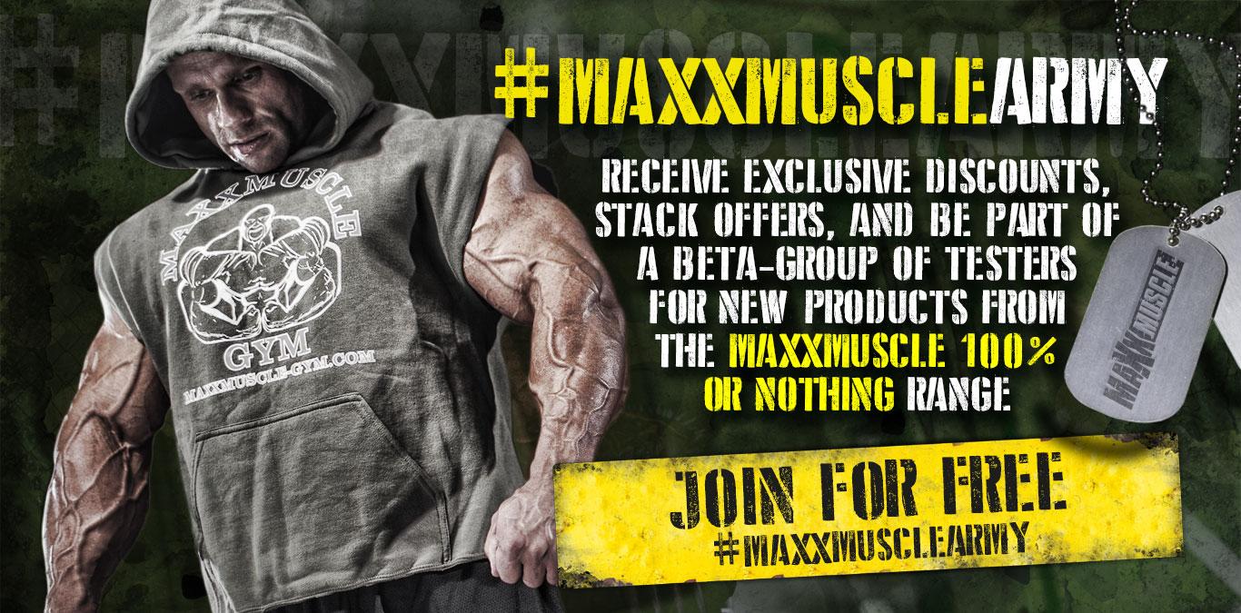 Join #MaxxmuscleArmy